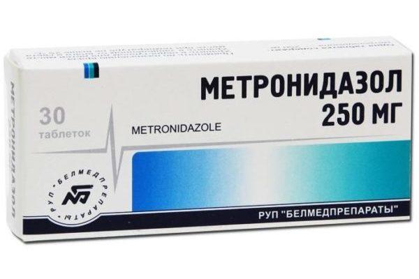 Метронидазол-таблетки