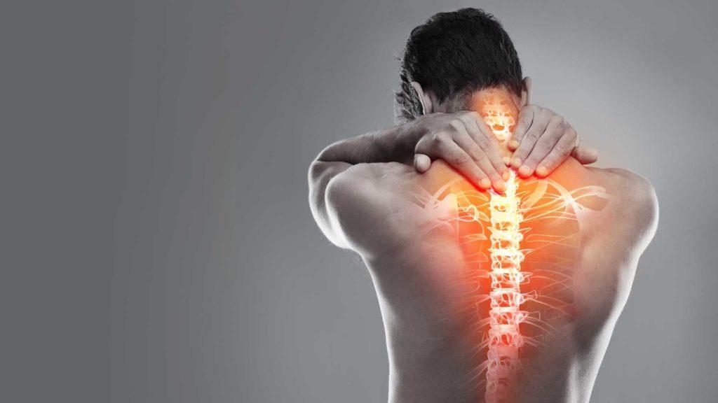 Корешковый остеохондроз или синдром: шейный, грудной, поясничный, крестцовый.