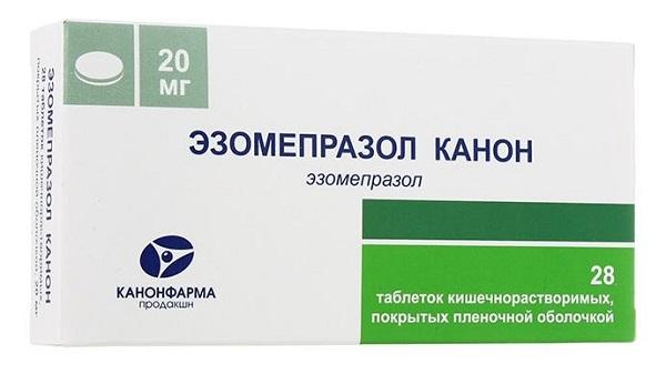 Эзомепразол канон таблетки