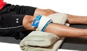 Первая помощь при растяжении связок колена