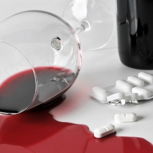 Пролитое вино