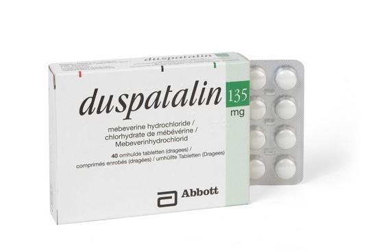 Дюспаталин - как выглядят таблетки?