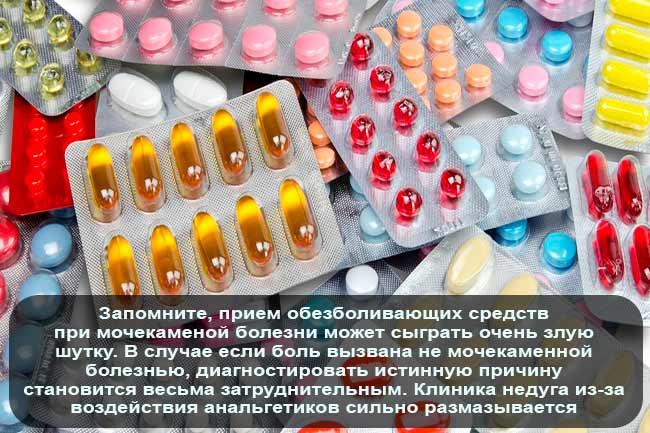 Применение анальгезирующих средств