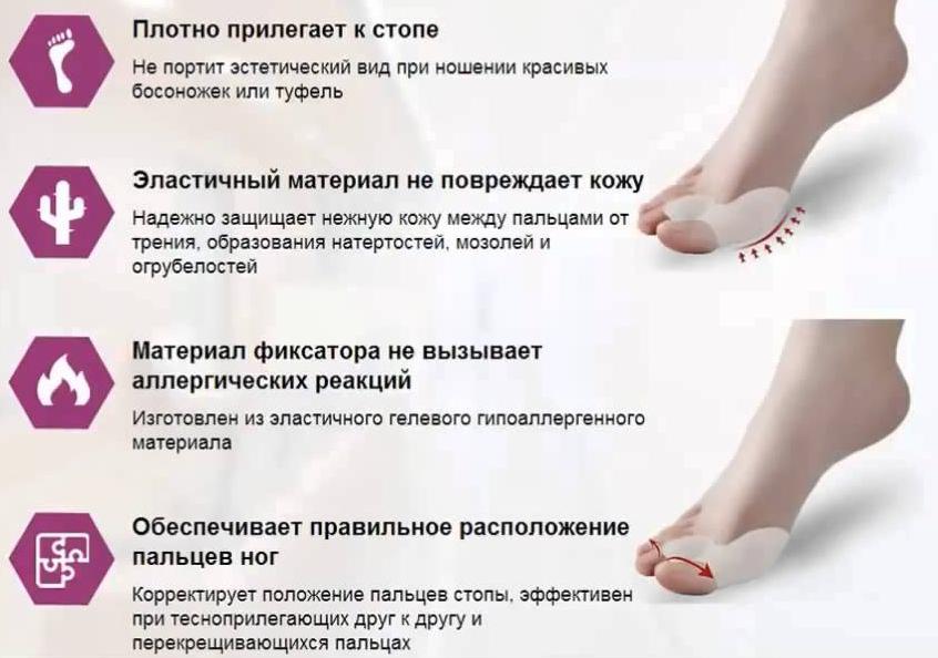 Фиксатор для большого пальца ноги Вальгус Про (lux)