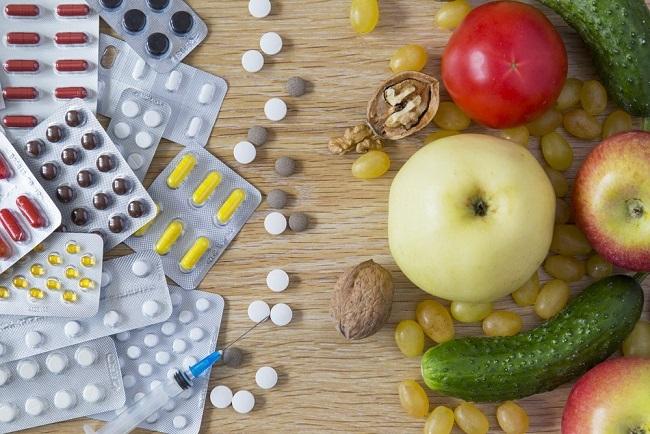 препараты и еда