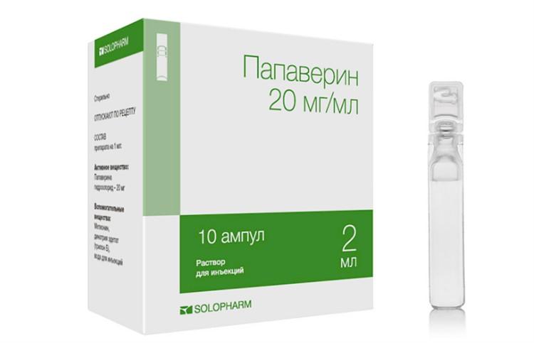 Пропорция папаверина с дибазолом