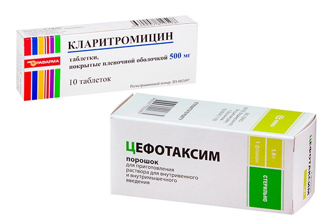 Медикаменты при лечении уретрита